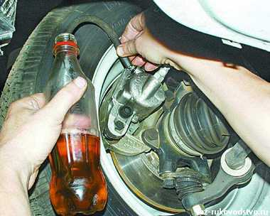 Прокачка тормозов ваз 2112 своими руками 54