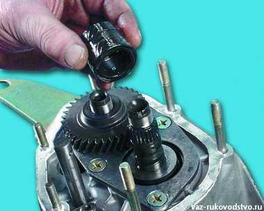 Фото №19 - сколько синхронизаторов в кпп ВАЗ 2110