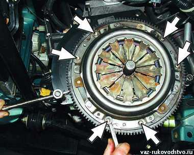 Фото №22 - ремонт сцепления ВАЗ 2110