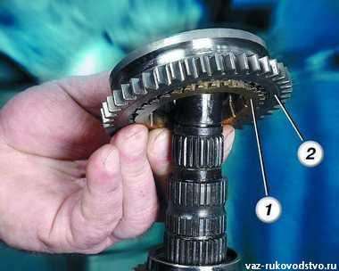 Фото №21 - ремонт 2 передачи ВАЗ 2110