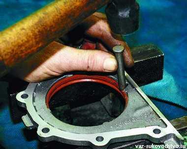 Замена сальника на коленвале ваз 2109