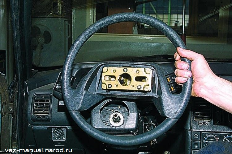 За рулем своими руками 2110