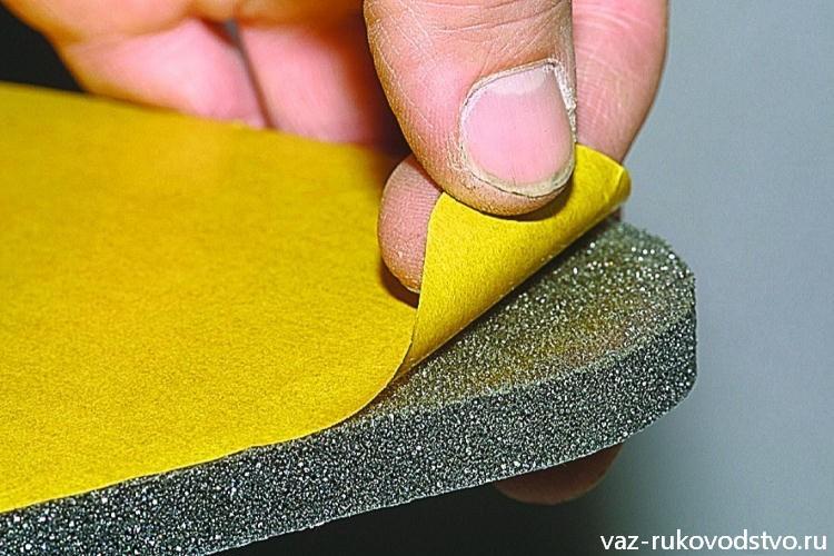 Как сделать шумку из поролона
