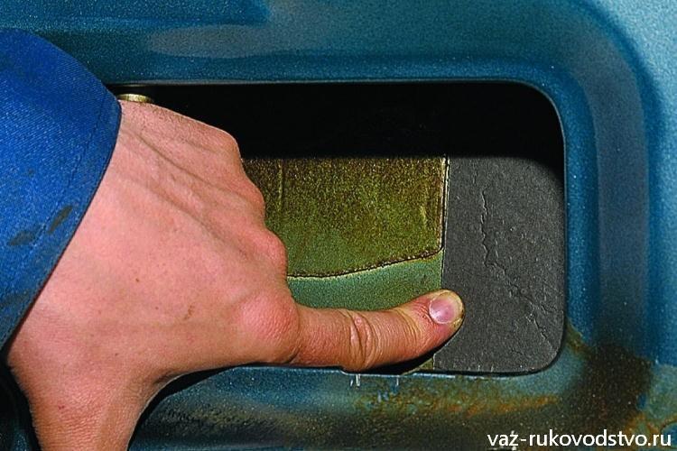 Проклейка двери ваз 2110