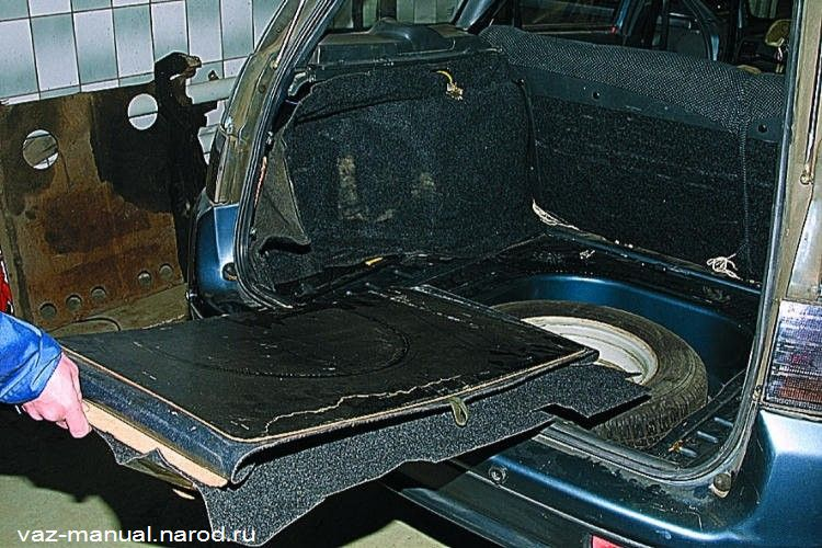 Шумоизоляция багажника ваз 2110