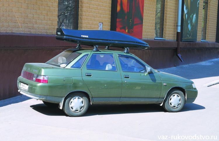 Багажник на ваз 2112 на крышу своими руками 14